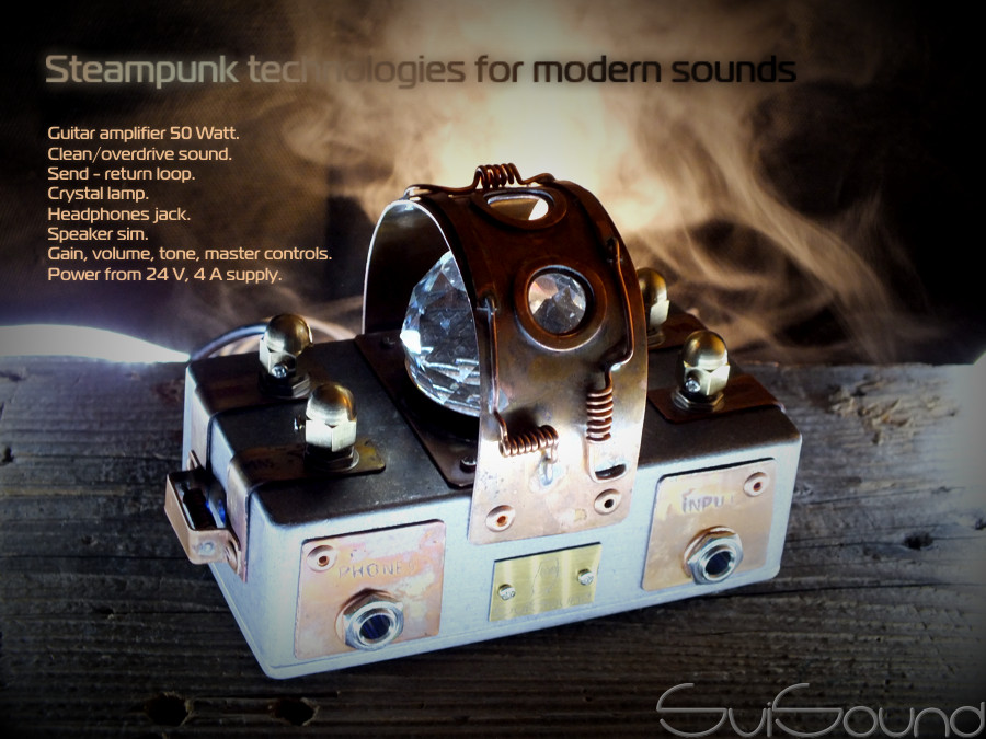 steampunk amplifier
